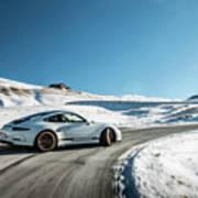 Porsche 911r Powerslide Poster