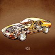 Porsche 928 1980 Poster