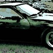 Porsche 944 On A Hot Afternoon Poster