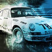 Porsche Carrera Rsr, 1973 - 23 Poster