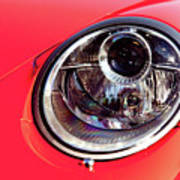 Porsche Headlight Poster