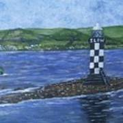 Port Glasgow, Perch Lighthouse Poster