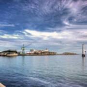 Port Melbourne Harbour Poster
