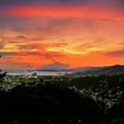Port Of Spain Sunset Poster