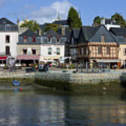Port Of St Goustan In Brittany  France Poster