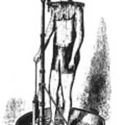 Portable Shower Bath 1880 Poster