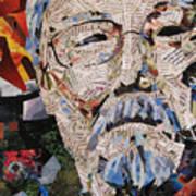 Portait Of David Suzuki Poster