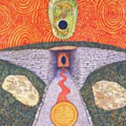 Portal Of The Celtic Goddess Poster