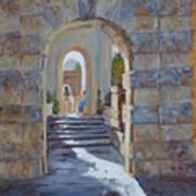 Portals At Vizcaya Poster