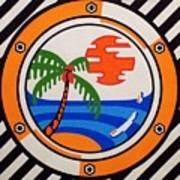 Porthole Paradise Poster