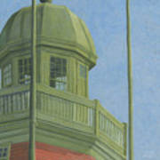 Portland Observatory In Portland, Maine Poster