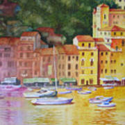 Portofino Afternoon Poster