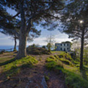 The House Of The Rising Sun In Portofino Poster
