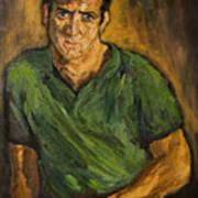 Portrait - Bert Marge Poster