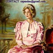 Portrait Commissions By Portrait Artist Carole Spandau Poster