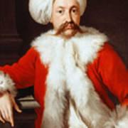 Portrait Of A Gentleman In Oriental Costume Poster
