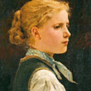 Portrait Of A Girl Poster