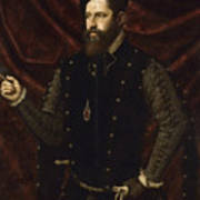 Portrait Of A Knight Of The Order Of Santiago Poster