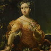 Portrait Of A Lady, Allegory Of Abundantia Poster