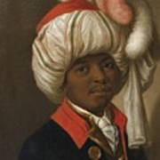 Portrait Of A Man Wearing A Turban Poster