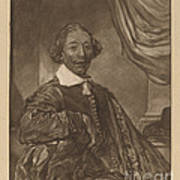 Portrait Of A Seated Man Poster