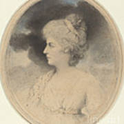 Portrait Of A Woman In Profile Poster