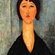 Portrait Of A Young Woman Poster