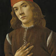 Portrait Of A Youth Poster