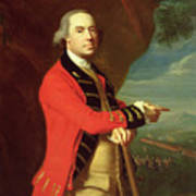 Portrait Of General Thomas Gage Poster by John Singleton Copley