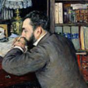 Portrait Of Henri Cordier Poster