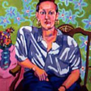 Portrait Of Karen Poster