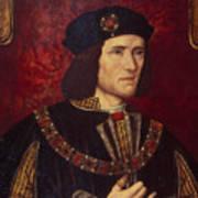 Portrait Of King Richard IIi Poster by English School