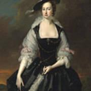 Portrait Of Lady Frances Courtenay Poster