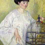 Portrait Of Madame Frieseke Poster