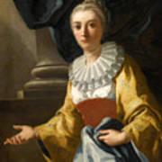 Portrait Of Maria Cavalcanti Ametrano Duchess Of San Donato Poster