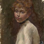 Portrait Of Mery Laurent Poster