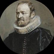 Portrait Of Nicholas Rockox Poster