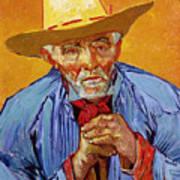 Portrait Of Patience Escalier Poster by Vincent van Gogh