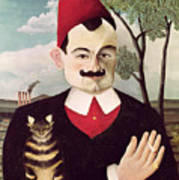 Portrait Of Pierre Loti Poster