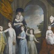 Portrait Of The Children Of William Poster