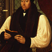 Portrait Of Thomas Cranmer Poster