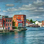 Portsmouth Harbor Poster