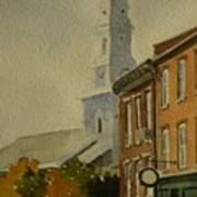 Portsmouth North Church Tower Poster