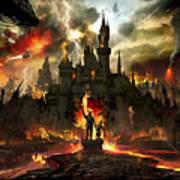 Post Apocalyptic Disneyland Poster