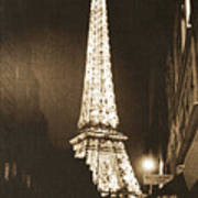 Postcard From Paris- Art By Linda Woods Poster