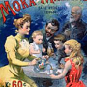 Poster Advertising Moka Maltine Coffee Poster