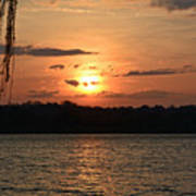 Potomac River Sunset In March Poster