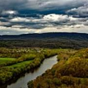 Potomac River Valley - West Virginia Poster