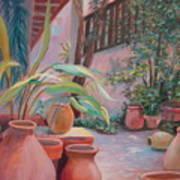 Pottery Garden Poster
