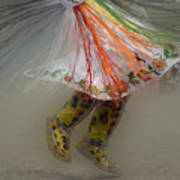 Pow Wow Shawl Dancer 4 Poster